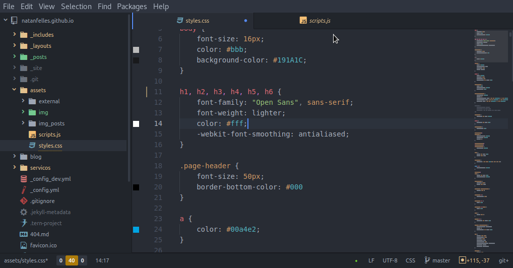 Atom PHP Environment + CodeIgniter 3 & 4